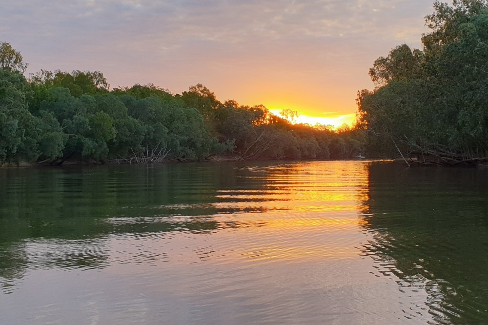 01-mary river sunset